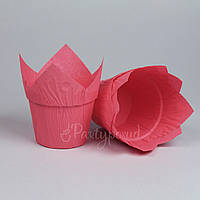 """Капсула """"Тюльпан"""" с усиленным бортом розовая"""