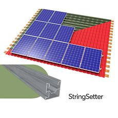 StringSetter - крепления PV модулей шириной до 1005мм (металлочерепица, битумная, профнастил, шифер)