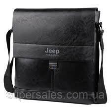 РЕМЕНЬ В ПОДАРОК! Мужская стильная сумка Jeep Buluo, барсетка