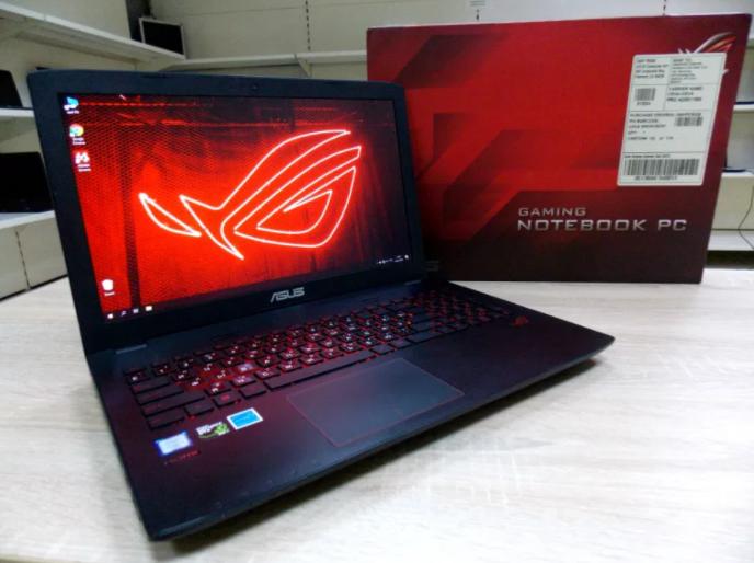 Игровой Ноутбук Asus ROG GL552L + Core i7 + КАК НОВЫЙ + Гарантия