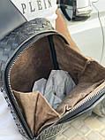 Мужская кожаная сумка-слинг через плечо, рюкзак Bottega Venetta, фото 4