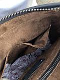 Сумка через плече Bottega Venetta Кожаная сумка с широким ремнем Ботегга Венета Сумка плетеная Bottega, фото 4