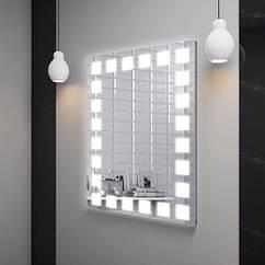 Зеркало LED (65*85*3см) VZ-AL-D9 с полкой
