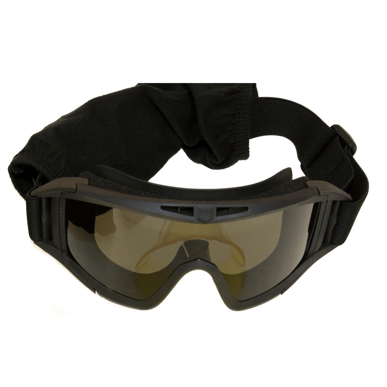Окуляри-маска тактичні чорні Revision Black 2123 (BE0718UA)