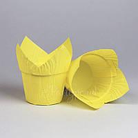 """Капсула """"Тюльпан"""" с усиленным бортом желтая"""