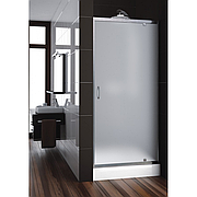 Дверь в душевую кабину Aquaform Nigra 80 см, 103-091112, 800х1850 мм, стекло сатин