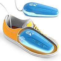 Сушилка для обуви электрическая UltraTOP 3в1: ТЕПЛО + ОЗОН + УФ Лучи | ликвидирует ГРИБОК и ЗАПАХ