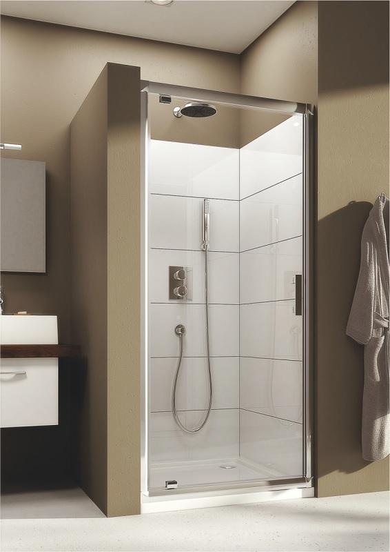 Душові двері Aquaform Supra Pro 90 см, 90х190, скло прозоре, 103-09324