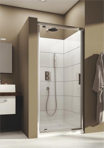 Душові двері Aquaform Supra Pro 90 см, 90х190, скло прозоре, 103-09324, фото 2