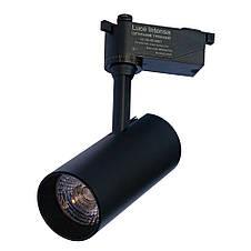 Світильник трековий світлодіодний ЕВРОСВЕТ Luce Intensa LI-20-01 20Вт 4200К 2000Лм чорний (000056773), фото 2