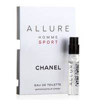 Chanel Allure homme Sport, мужская туалетная вода, миниатюра 2 мл