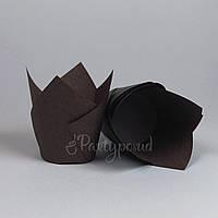 "Капсула ""Тюльпан"" коричневая"