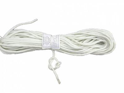 Веревка, шнур,фал для якоря,магнита вейкборда, лыж, длина 25 м. D 6 мм