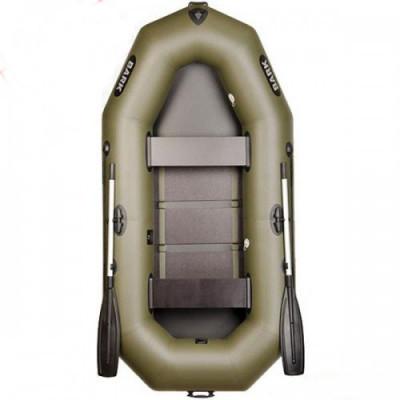 Двухместная гребная надувная лодка Bark (Барк) В-260 с реечным настилом