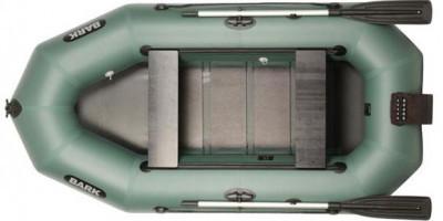 Двухместная гребная надувная лодка Барк ( Bark) B 270ND, передвижные сидения (реечный настил)