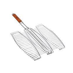 Решетка для рыбы гриль тройная Stenson MH-0089, 65*40*36см