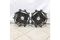 Колеса з грунт-ми 400/160 (10*10) СТАНДАРТ (3 мм) Булат, фото 1