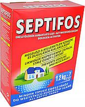 Septifos, биоактиватор для септика, выгребных ям, туалетов Septifos vigor, 1.2 кг