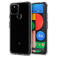 Чехол Spigen для Google Pixel 4a (5G) - Ultra Hybrid, Crystal Clear (ACS01881)