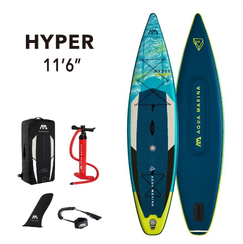 Доска Hyper - Touring iSUP 3.5m/15cm with coil leash