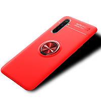 Чохол Fiji Hold для Realme 6S бампер накладка з підставкою Red