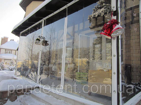 Мягкие окна для беседок - Защита от ветра, дождя и снега, фото 2