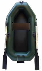 Надувная гребная одноместная лодка из пвх Л190ТУ и длинные весла (Копировать)