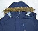Детская куртка демисезонная Bison темно-синяя со съемной подкладкой (QuadriFoglio, Польша), фото 3