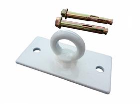 Потолочное крепление для боксерской груши, мешка, каната, Trx, качели ( Цвет белый) 10050504мм