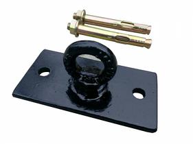 Потолочное крепление для боксерской груши, мешка, каната, Trx, качели ( Цвет черный) 10060506мм