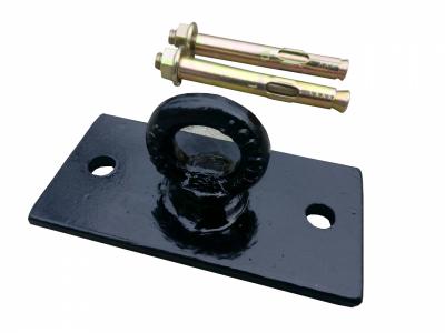 Потолочное крепление для боксерской груши, мешка, каната, Trx, качели ( Цвет черный) 140*50*50*5мм