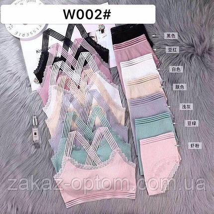 Комплект женского нижнего белья оптом S-L Китай W002-65912, фото 2