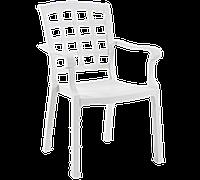 Кресло Papatya Паша белый