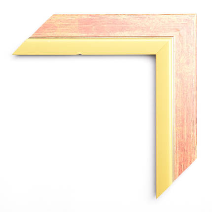 Настенное зеркало БЦ Стол Марта квадратное B05-F красный, фото 2