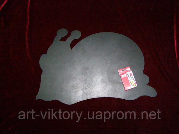 Меловая доска Улитка (38 х 59), декор, фото 2