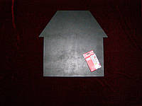 Меловая доска Дом (40 х 41), декор