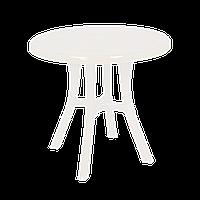 Стол круглый Irak Plastik Royal 80 см белый