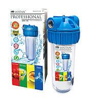 """Фільтр для очищення води SANTAN Arctic 3PS, 1"""" (корпус+сітка, кріплення і ключ)"""