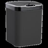 Сенсорное мусорное ведро JAH 15 л квадратное черный