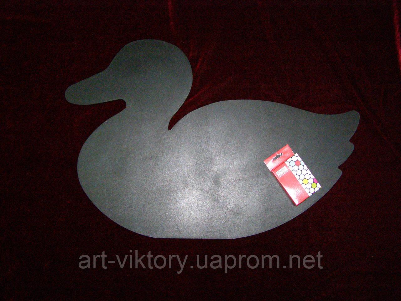 Меловая доска Утка (39 х 59), декор