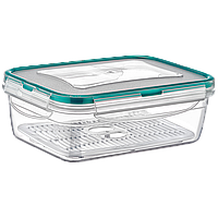 Контейнер Fresh Box прямоугольный 1,4 л прозрачный Irak Plastik, фото 1