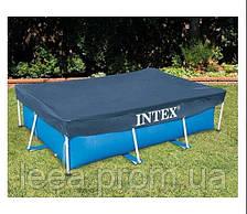 Тент - чохол для прямокутного каркасного басейну Intex 28038 (300*200 см)