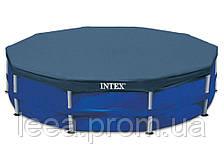 Каркасний тент-чохол для басейну Intex 28032, діаметр 457 см