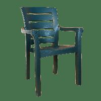 Кресло Irak Plastik Didim зеленое