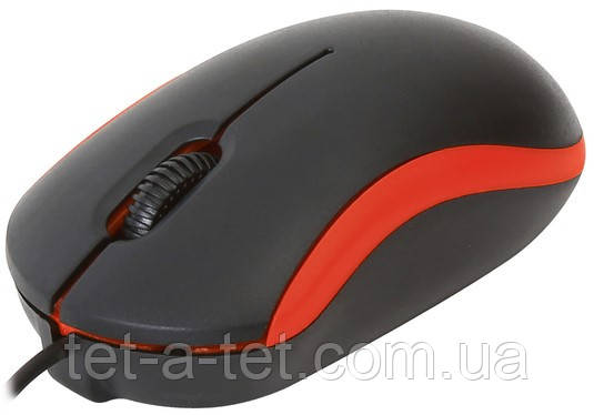 Мышь проводная OMEGA OM-07 3D Red