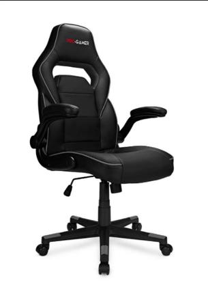 Геймерское компьютерное кресло СТРАЙК STRIKE серый, фото 2