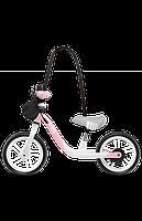 Беговел Lionelo ARIE BUBBLEGUM розовый, фото 4