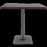База столу Lotus Square 40x40x73 см антрацит Papatya