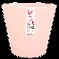 Горшок для цветов Фиджи Орхид D 160 мм / 1,6 л розовый перламутровый