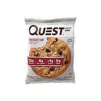 Протеиновое печенье Quest Nutrition Protein Cookie 59 г двойной шоколад (888849010790)
